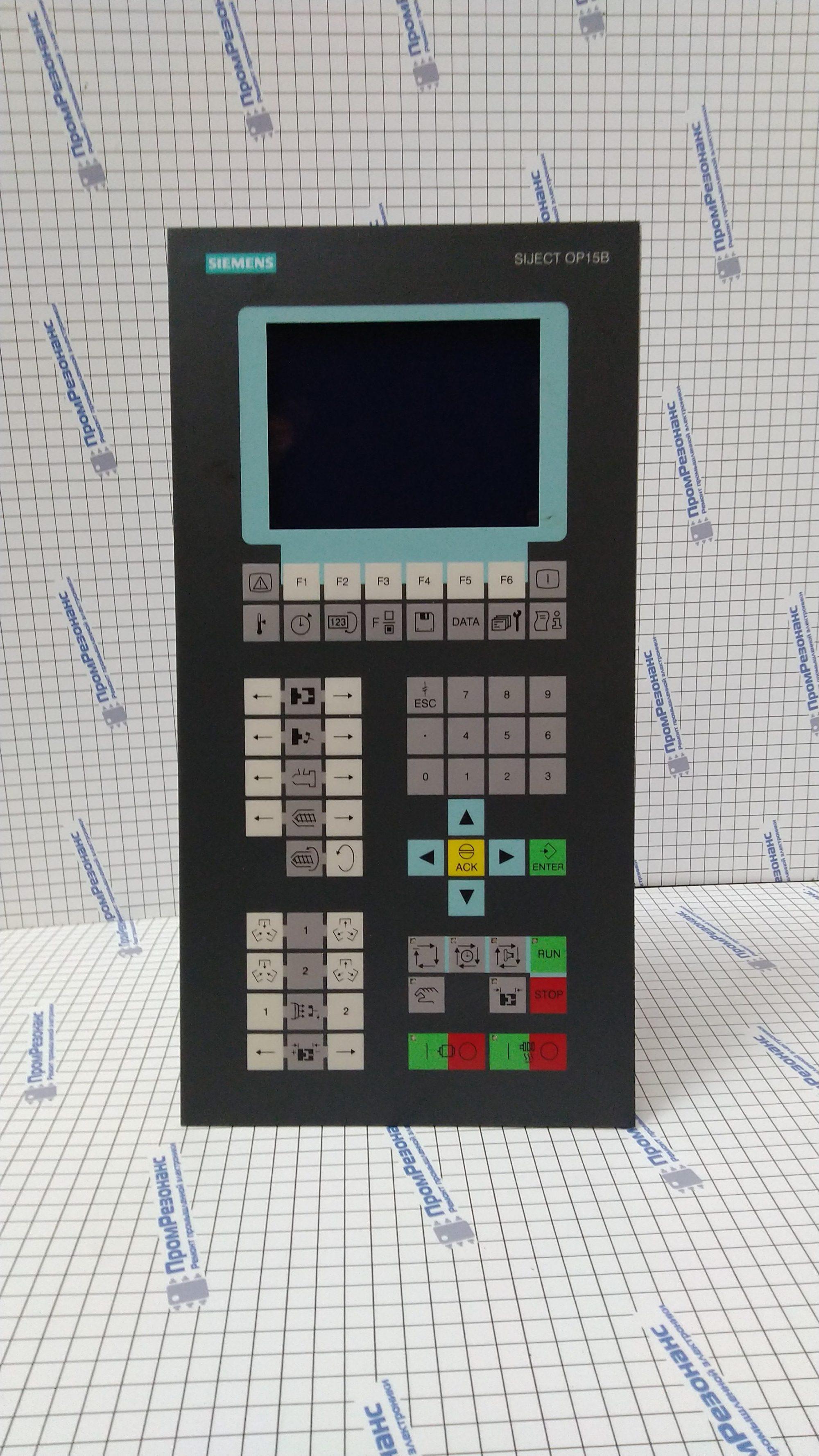 Сенсорная панель оператора Siemens Siject OP15B 6at1131-5bb20-0xb0