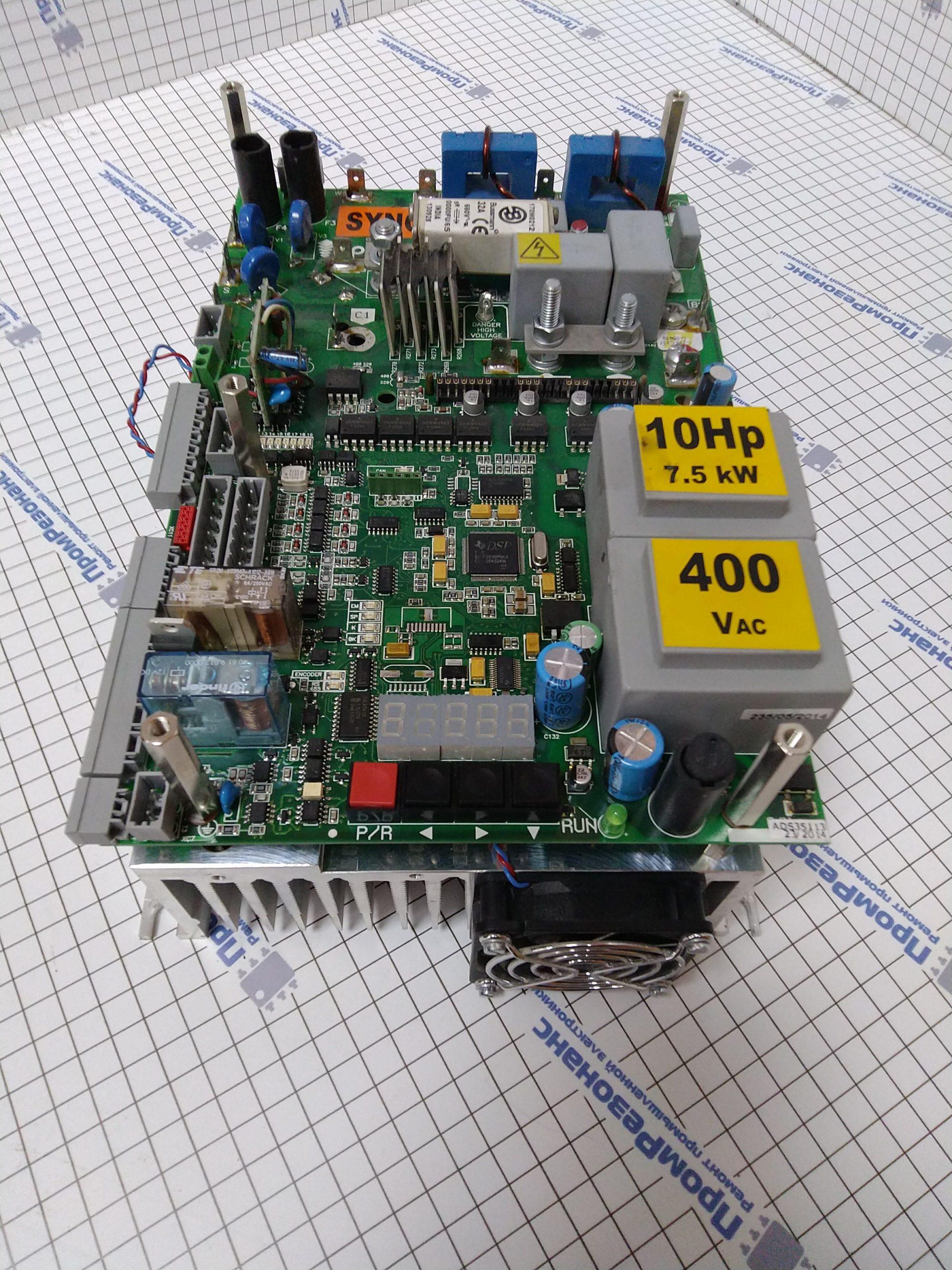 Частотный преобразователь MP Variаdor 10HP 400V Sincrono
